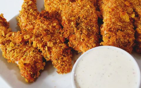 how-to-bread-chicken-fingers-dip